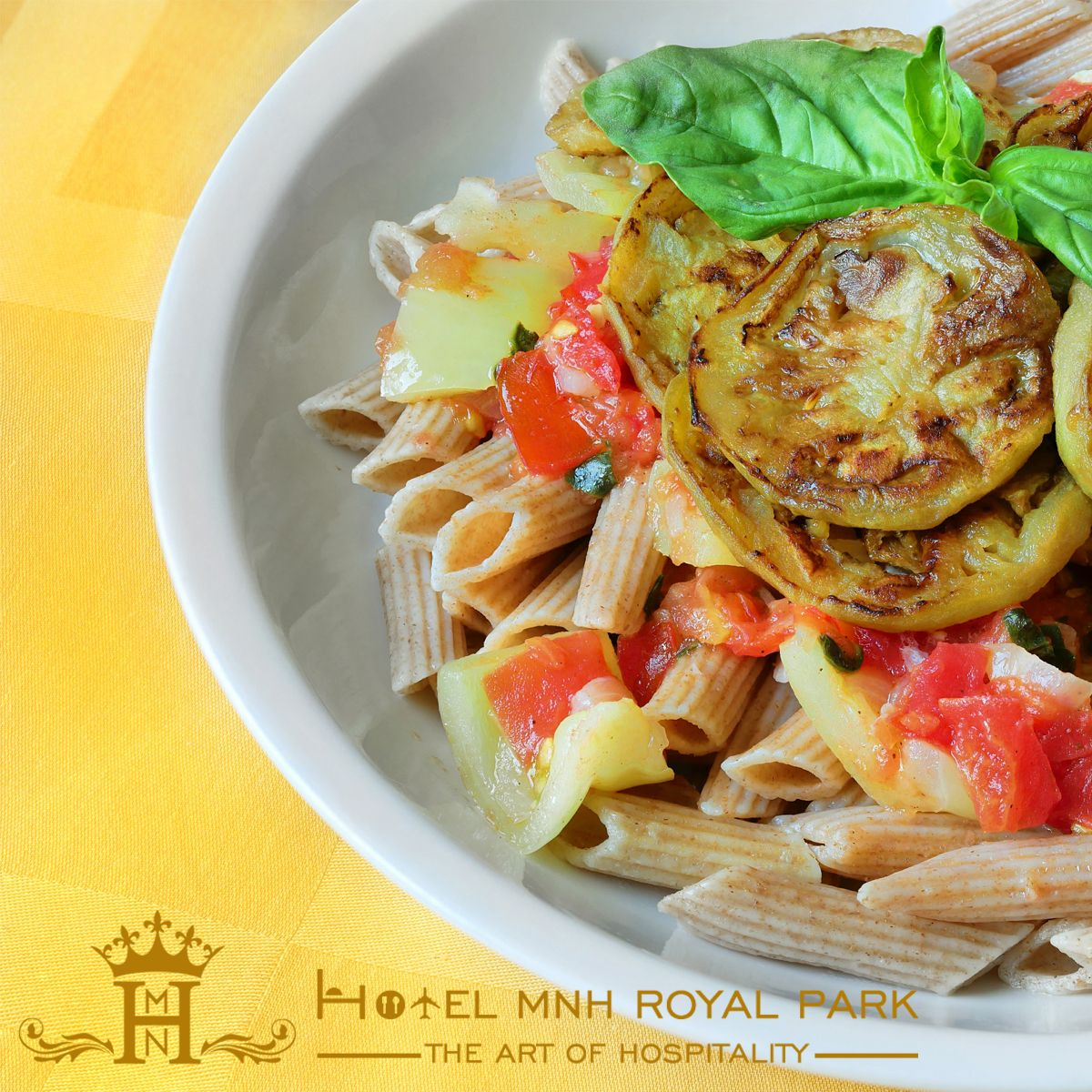 Pasta with Winter Squash and Tomatoes recipe makesthe dish