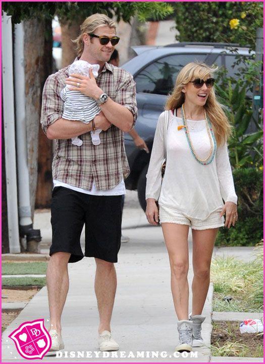 Elsa Pataky Chris Hemsworth Wedding 1