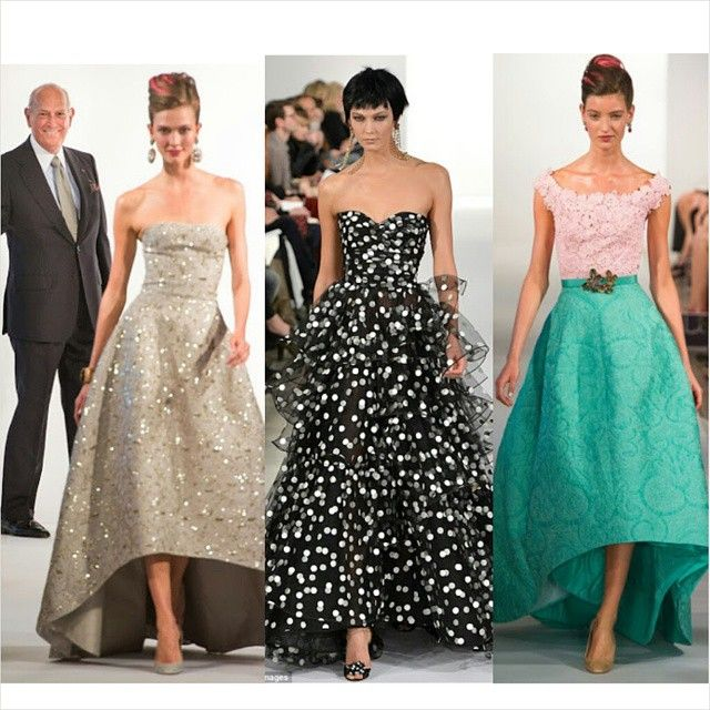 So many stunning designs from the amazing talented #OscardelaRenta. Which Dress is your absolute favorite? ✨✨ #fashion #fashionista #fashionblogger #fashiondesign #fashionillustrator #fashiondaily...