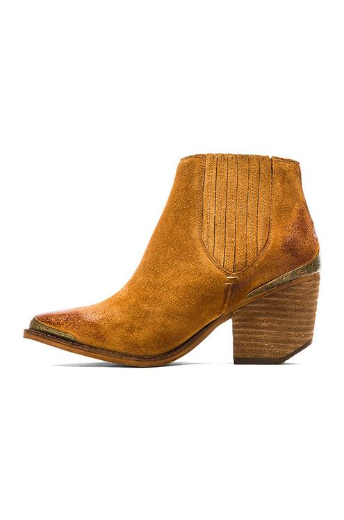 Jeffrey Campbell Rawlins Bootie in Tan | REVOLVE