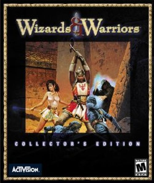 Wizards warriors pc 2000 big box manual and extras for Wizards warriors
