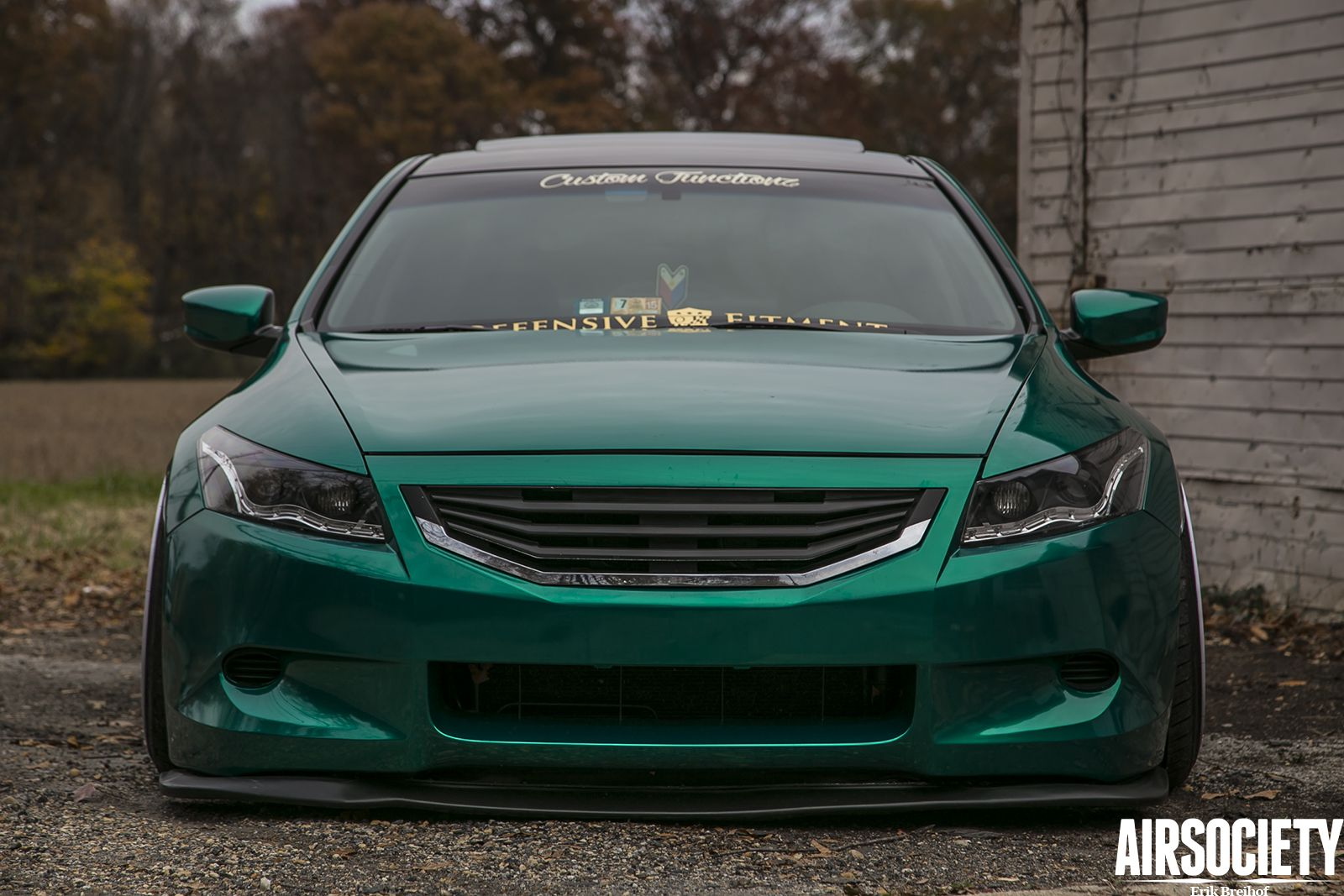 The Emerald Dream Custom Functionz' 2009 Honda Accord
