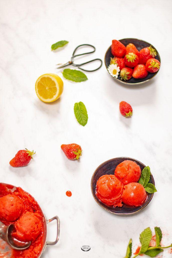30 recettes de glaces et sorbets maison   Recette glace, Glace et sorbet et Sorbet