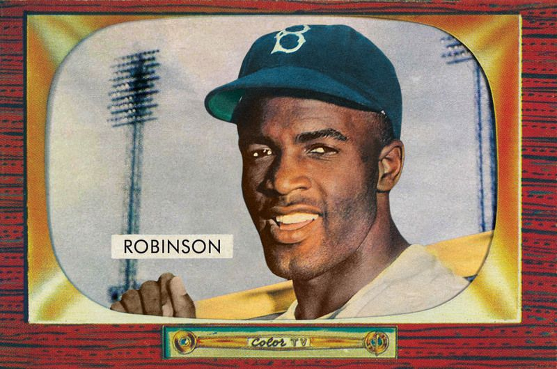 1955 Bowman Jackie Robinson Cards That Never Were Bowman
