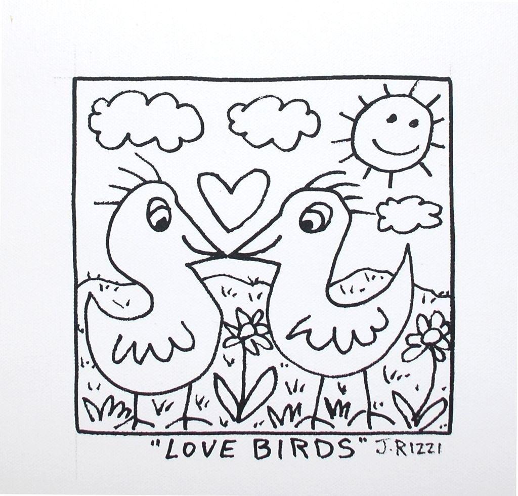 rizzi malvorlagen in 2020  kunststunden vögel kunst