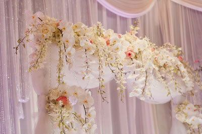 stunning array of wedding chuppah in detail