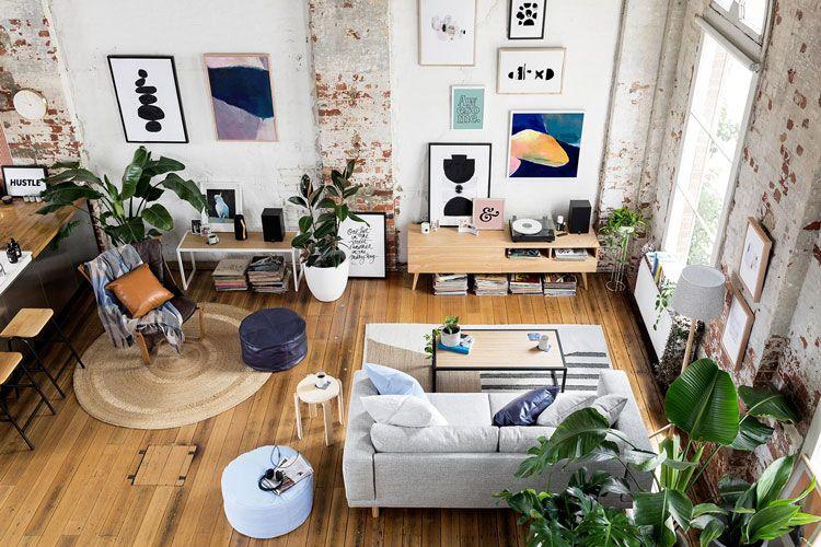 14 idées pour décorer sa maison avec des plantes vertes Salons - des idees pour decorer sa maison