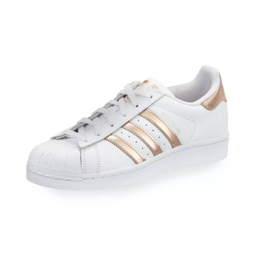 7 Rose Gold Sneakers You Need in Your Life | Adidas superstar ...