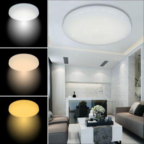 50W 3in1 LED Deckenleuchte Starlight-Effekt Lampe Wohnzimmer Küche - Led Deckenlampen Küche