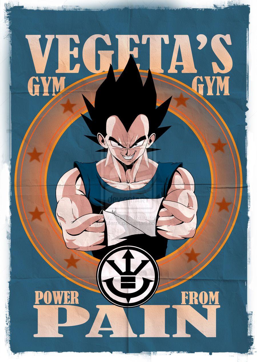 Vegeta's Gym by on deviantART