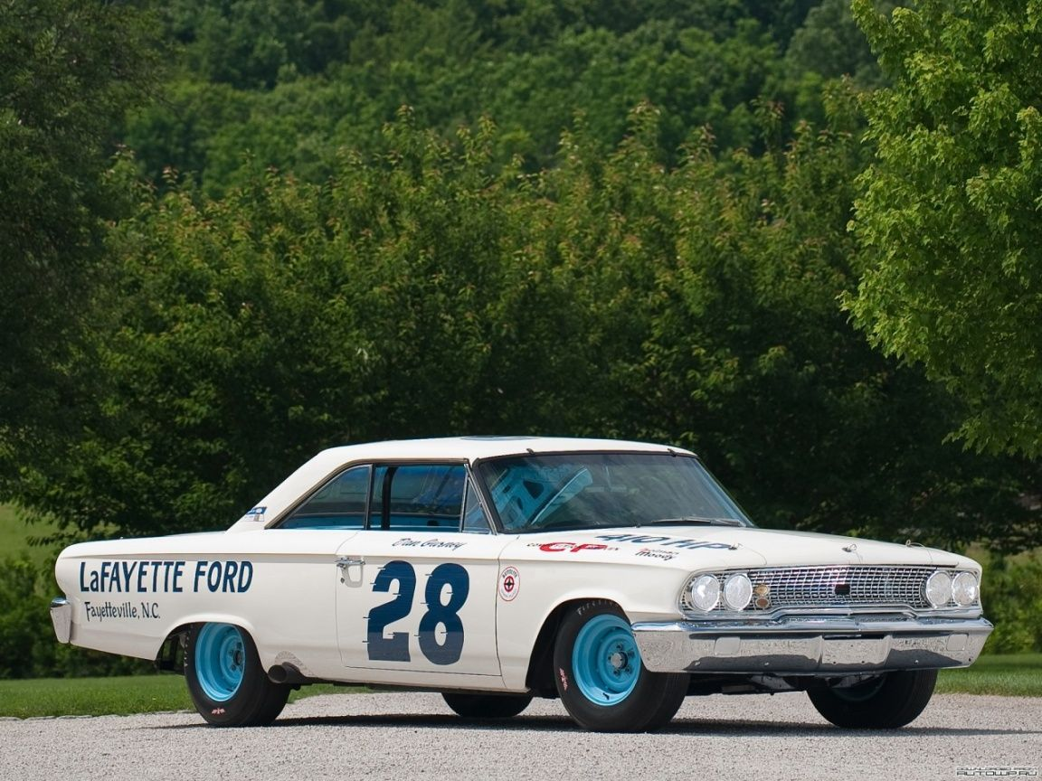 Galaxie Stock Car Fred Lorenz Driver Ford Galaxie Ford Racing Ford Galaxie 500