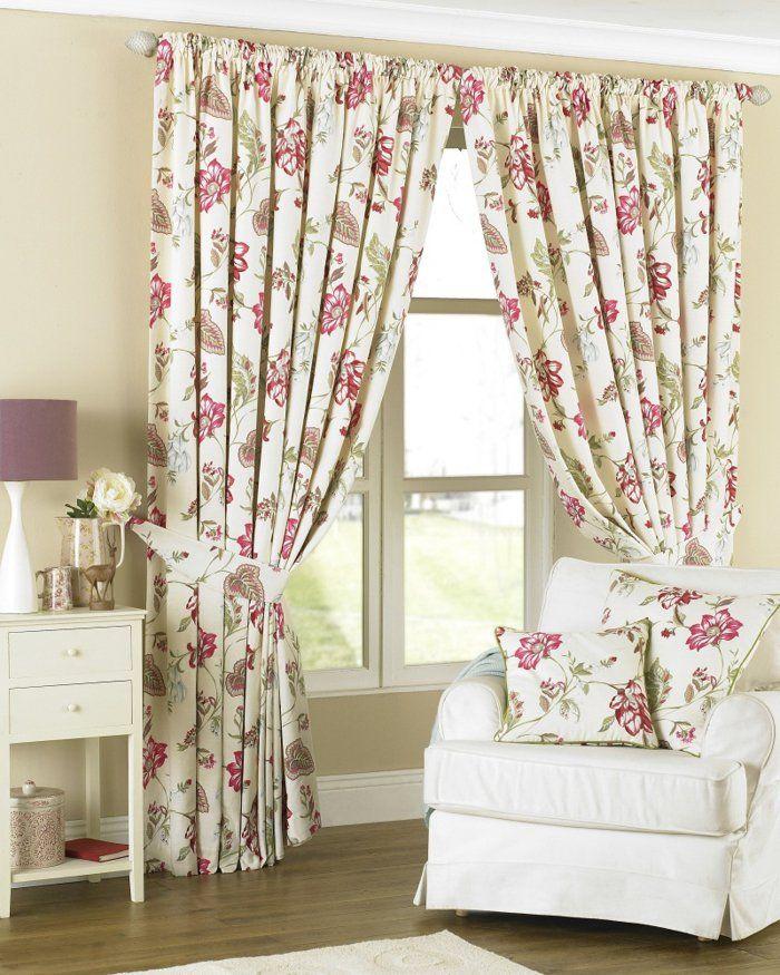 Peppen sie ihre wohnung durch sch ne gardinen auf - Musterfenster gardinen ...