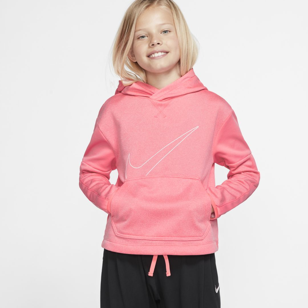 Therma Girls' Graphic Training Pullover Hoodie | Hoodies