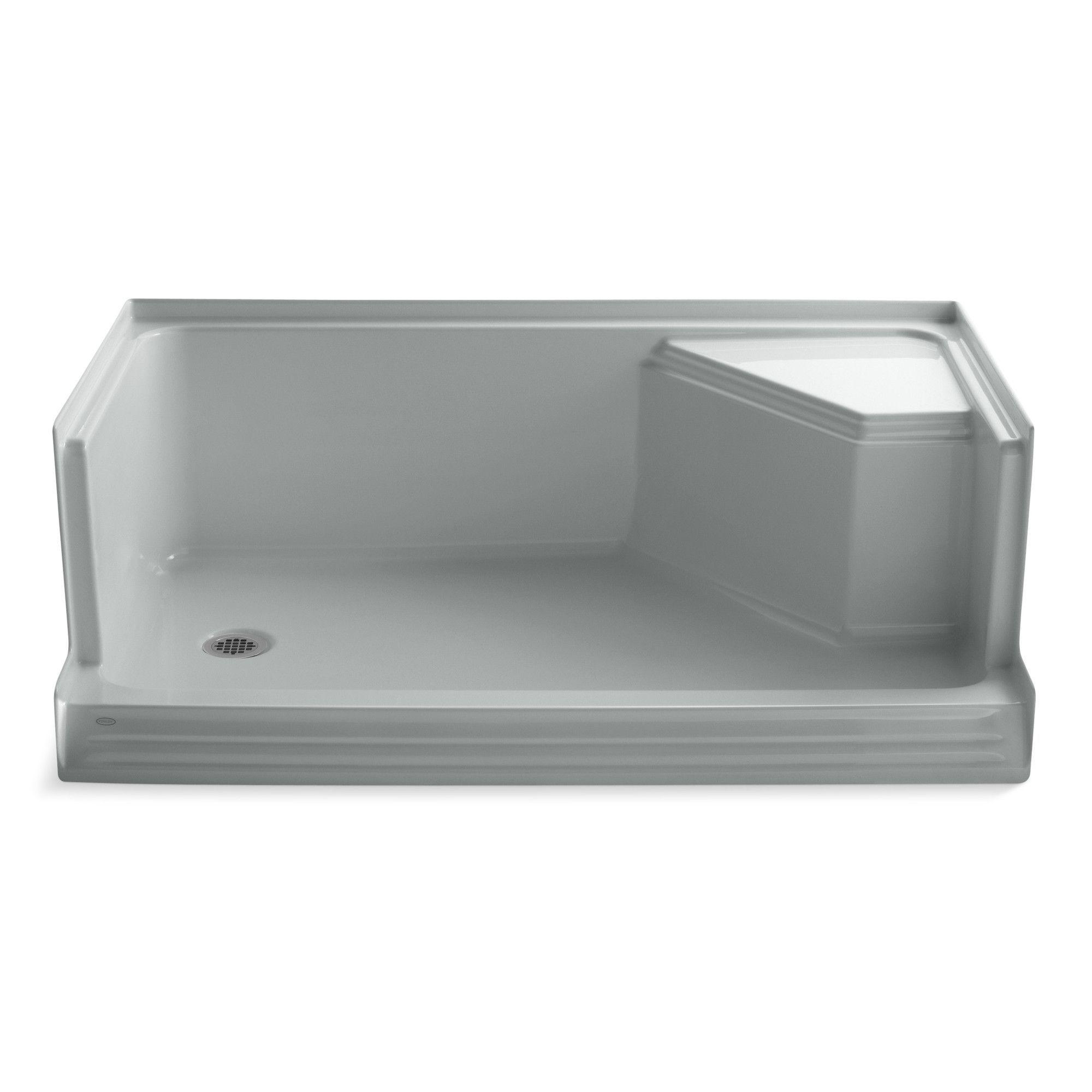 Memoirs 60 X 36 Single Threshold Left Hand Drain Shower Base