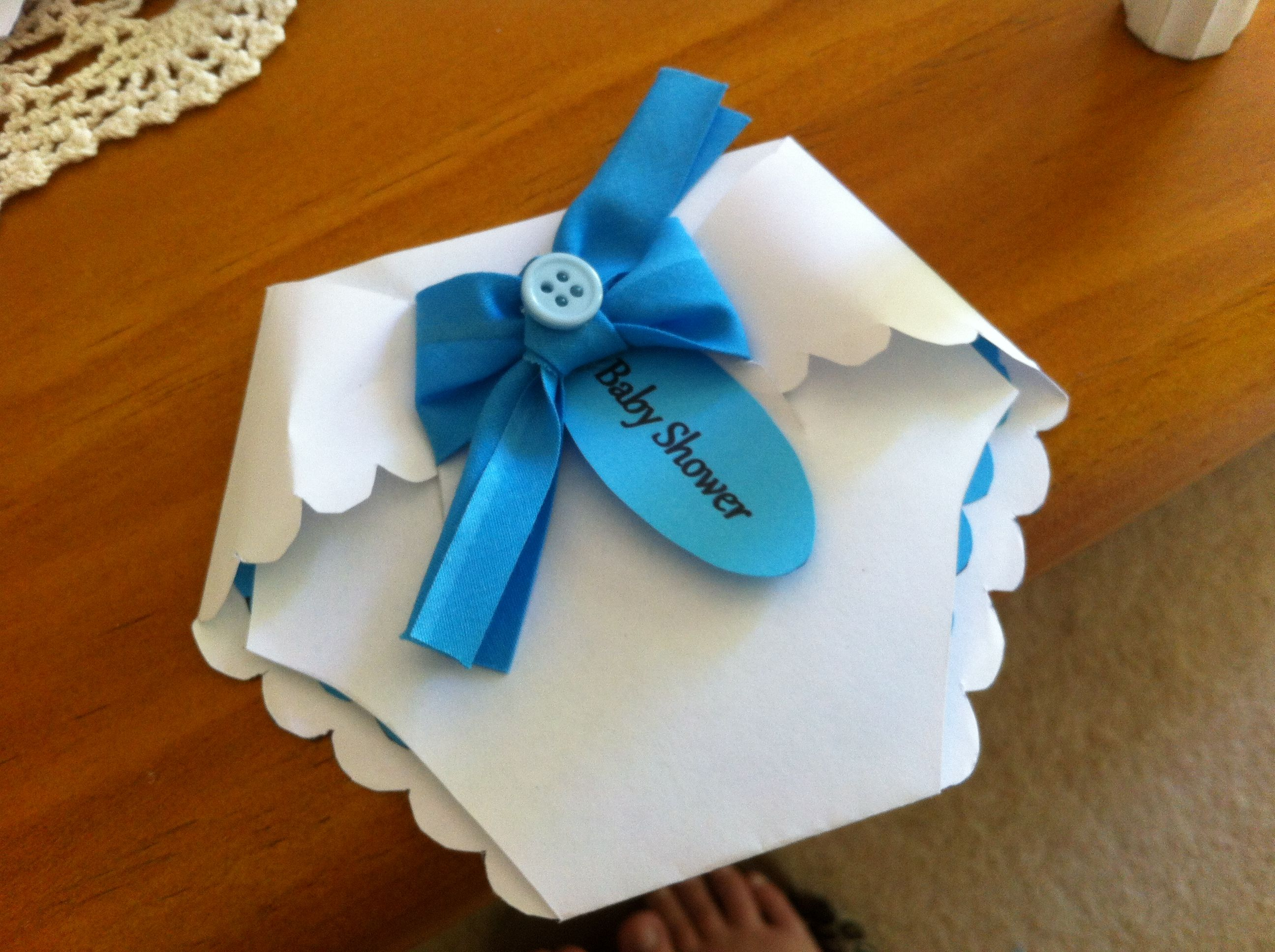 baby shower arts and crafts