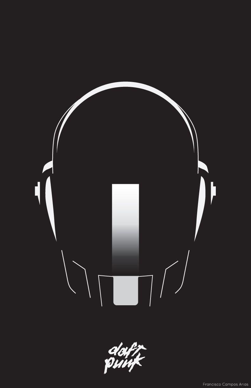Poster design using illustrator - A Poster Of Daft Punk I Created Using Adobe Illustrator Cs6