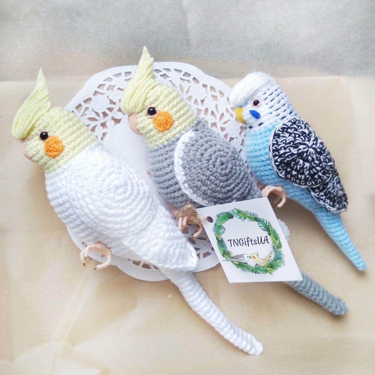 Lovebirds – Free Crochet Amigurumi Pattern   1428x1428