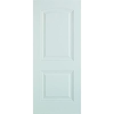 Stanley 2 Panel Painted Steel Slab Entry Door R St 36 At The Home