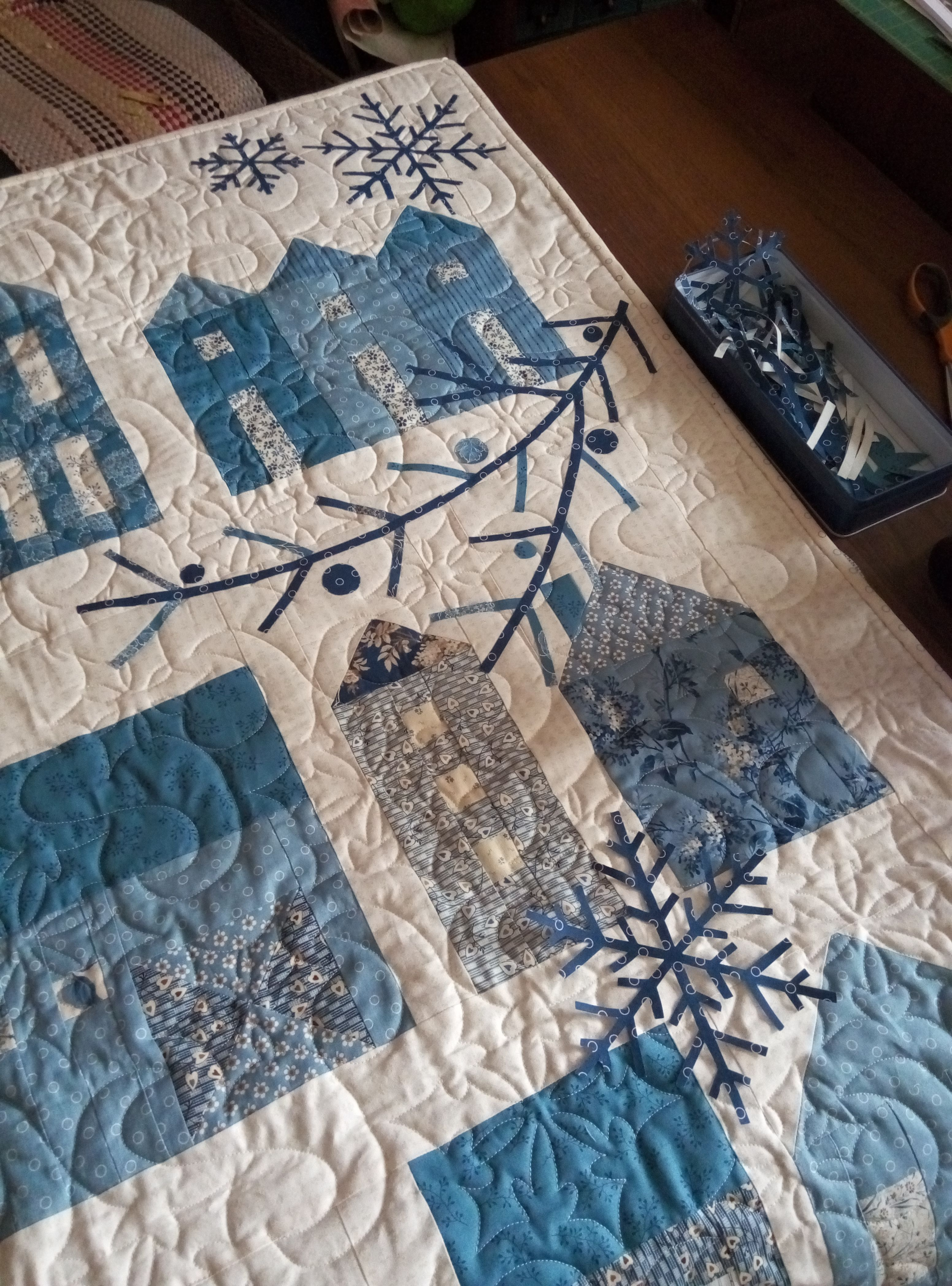 Winter village Quilt pattern name. | Quilts | Pinterest | Patterns ... : village quilts - Adamdwight.com