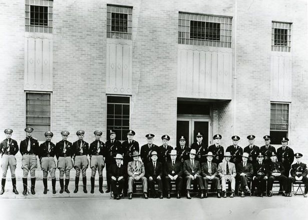 Port Arthur Police Department In The 1940u0027s.