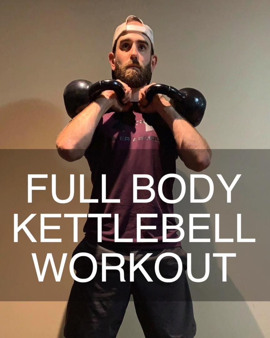 FULL BODY KETTLEBELL WORKOUT 45 Minutes (Follow Along) | Human 2.0 Fitness
