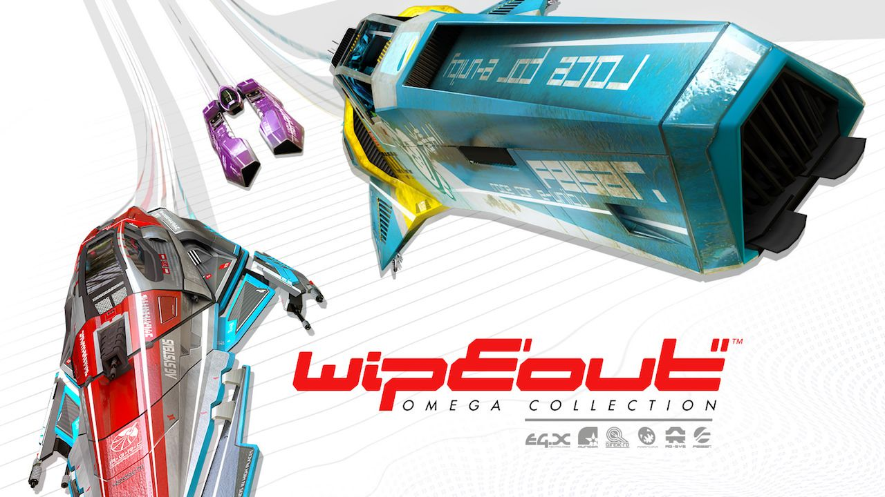 Wipeout Omega Collection Free PS VR Update Out Today