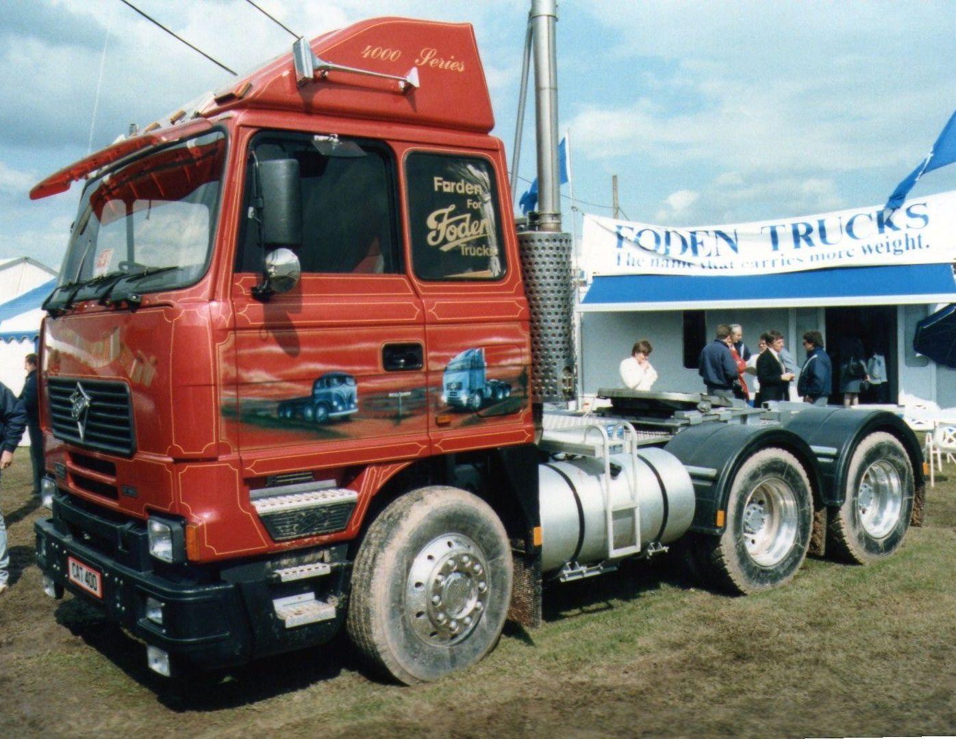Foden promo Truckfest 1988 Classic trucks, Cool trucks