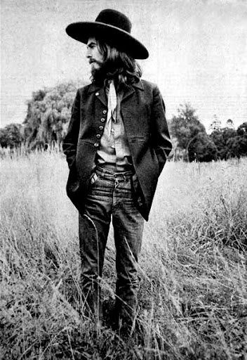 George Harrison Inspiration Inspo Music 60s 70s Fashion Style Rock Woodstock