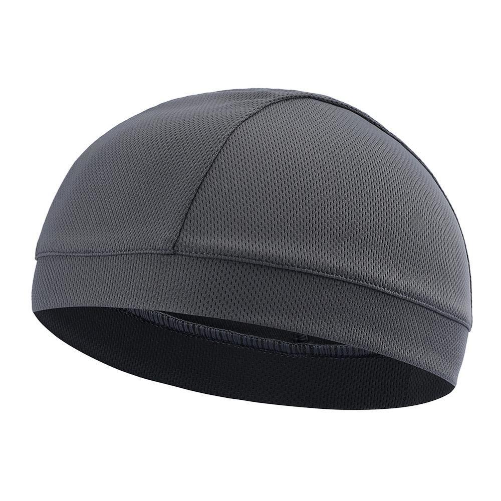 Men Women Under Helmet Liner Cap Outdoor Cycling Skull Thermal Cap Mesh Black US