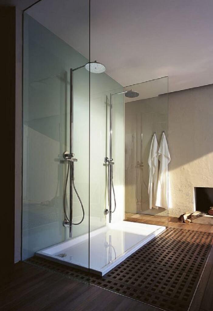 Bad Regendusche Glas Trennwand Badezimmer Ideen Im Haus Dessau