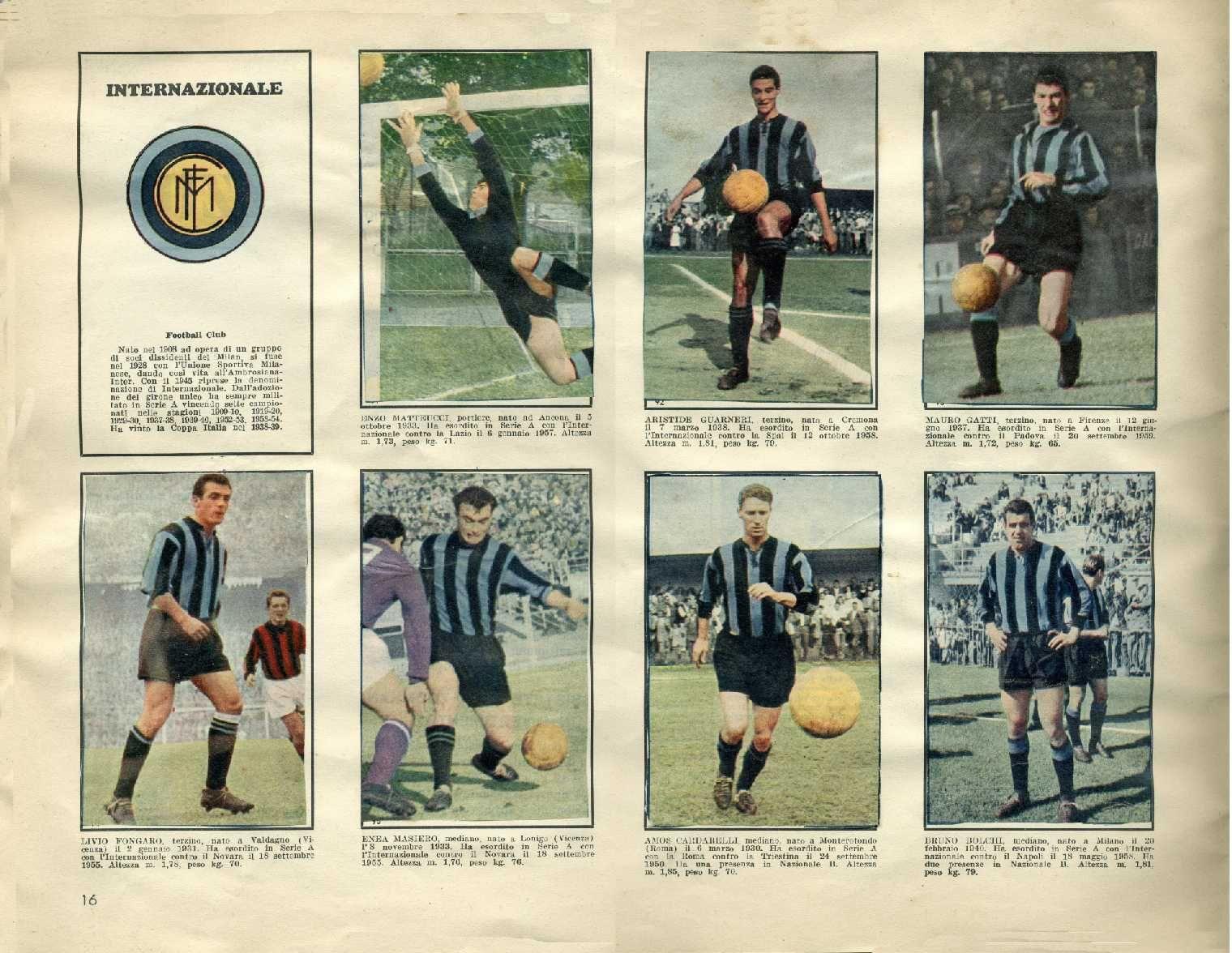 Album I Calciatori di Serie A La Gazzetta dello Sport