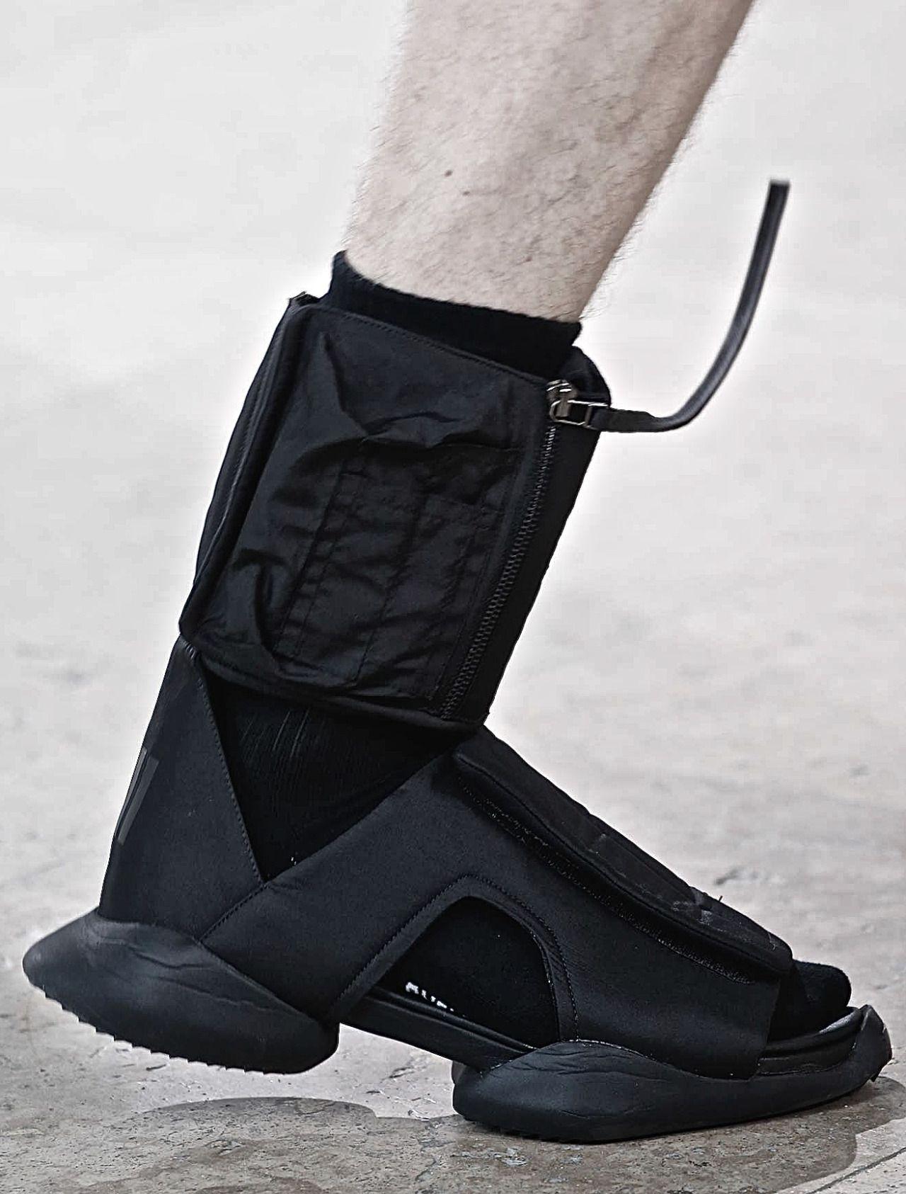 Leather CYCLOPS BIKER Boots Fall/winterRick Owens 3QcZIj