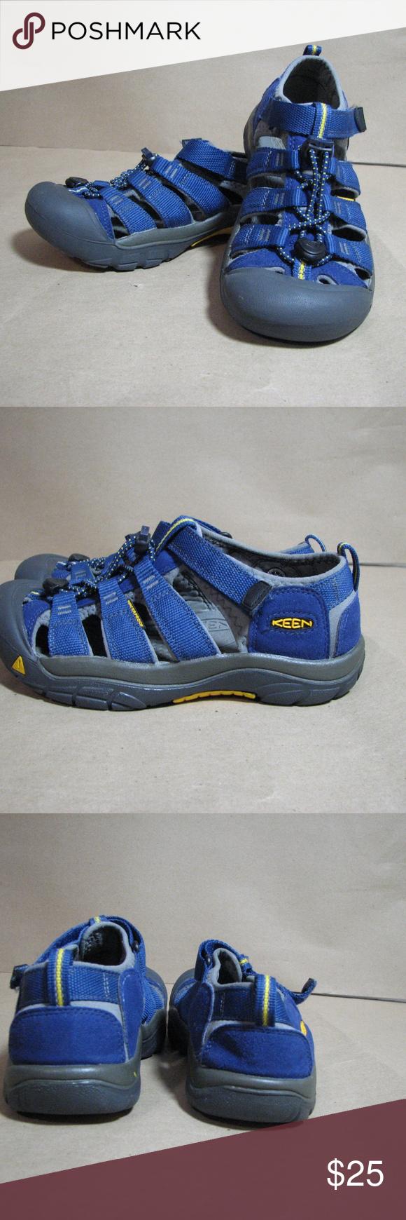 912c6c19cd05 Keen Newport H2 Blue Sandals Size 4 Excellent used condition Keen Newport  H2 sandals Great water shoes Size 4 kids (roughly 9