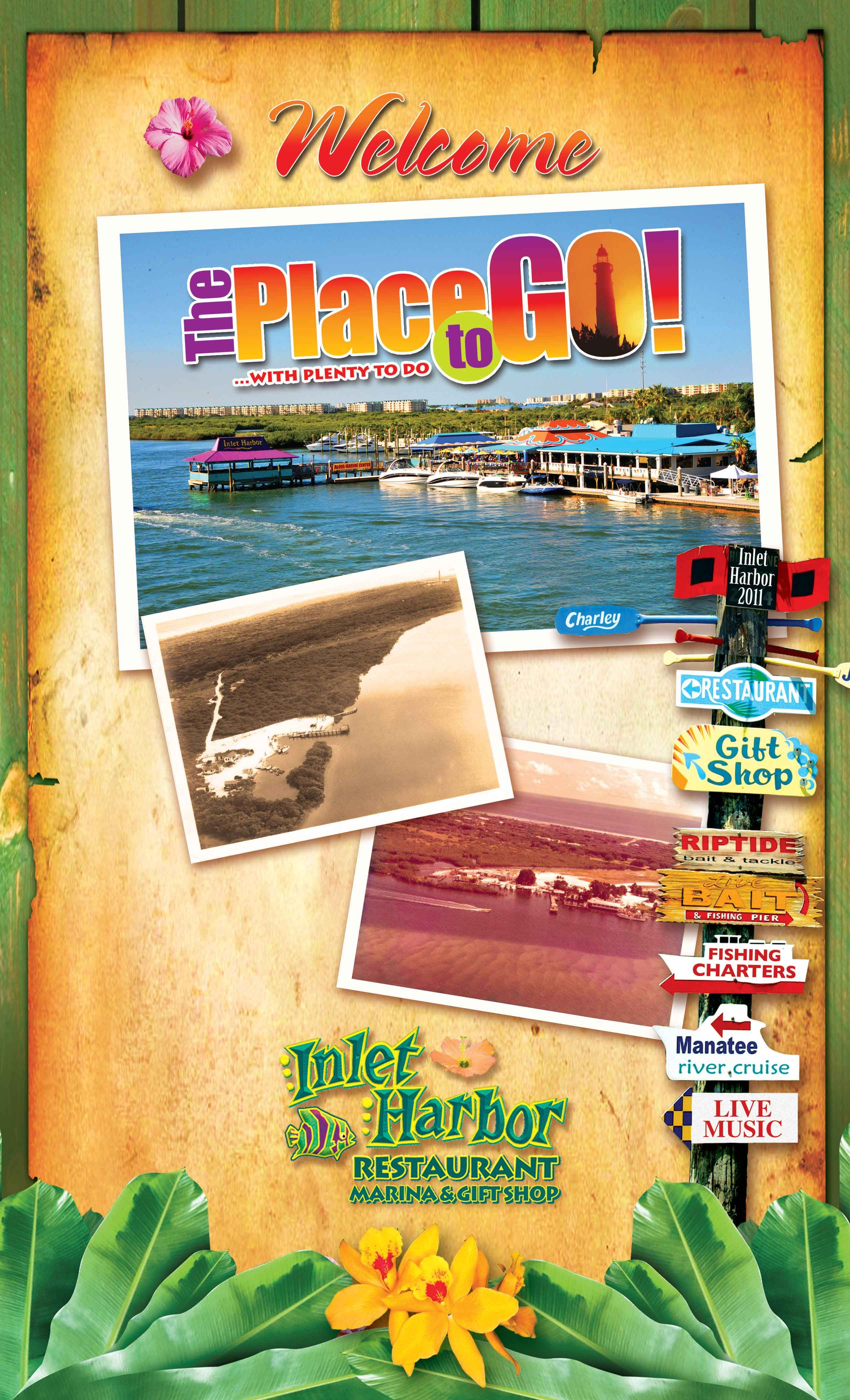 Inlet Harbor Is Daytona Beach S Place To Go With Plenty To Do Our Waterfront Restaurant Features Daytona Beach Restaurants Dream Vacation Spots Beach Place