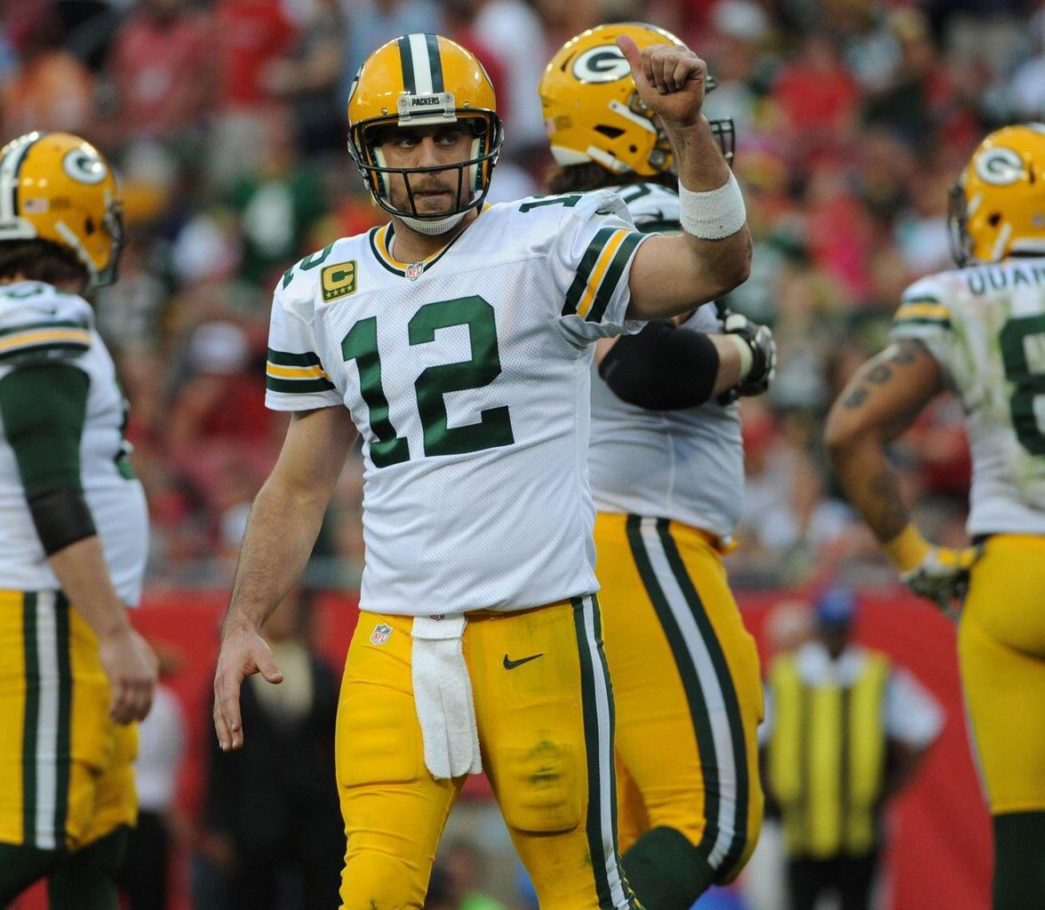 Thumbs Up Rodgers Photo By Jim Bievers Aaron Rodgers Green Bay Packers Rodgers Green Bay