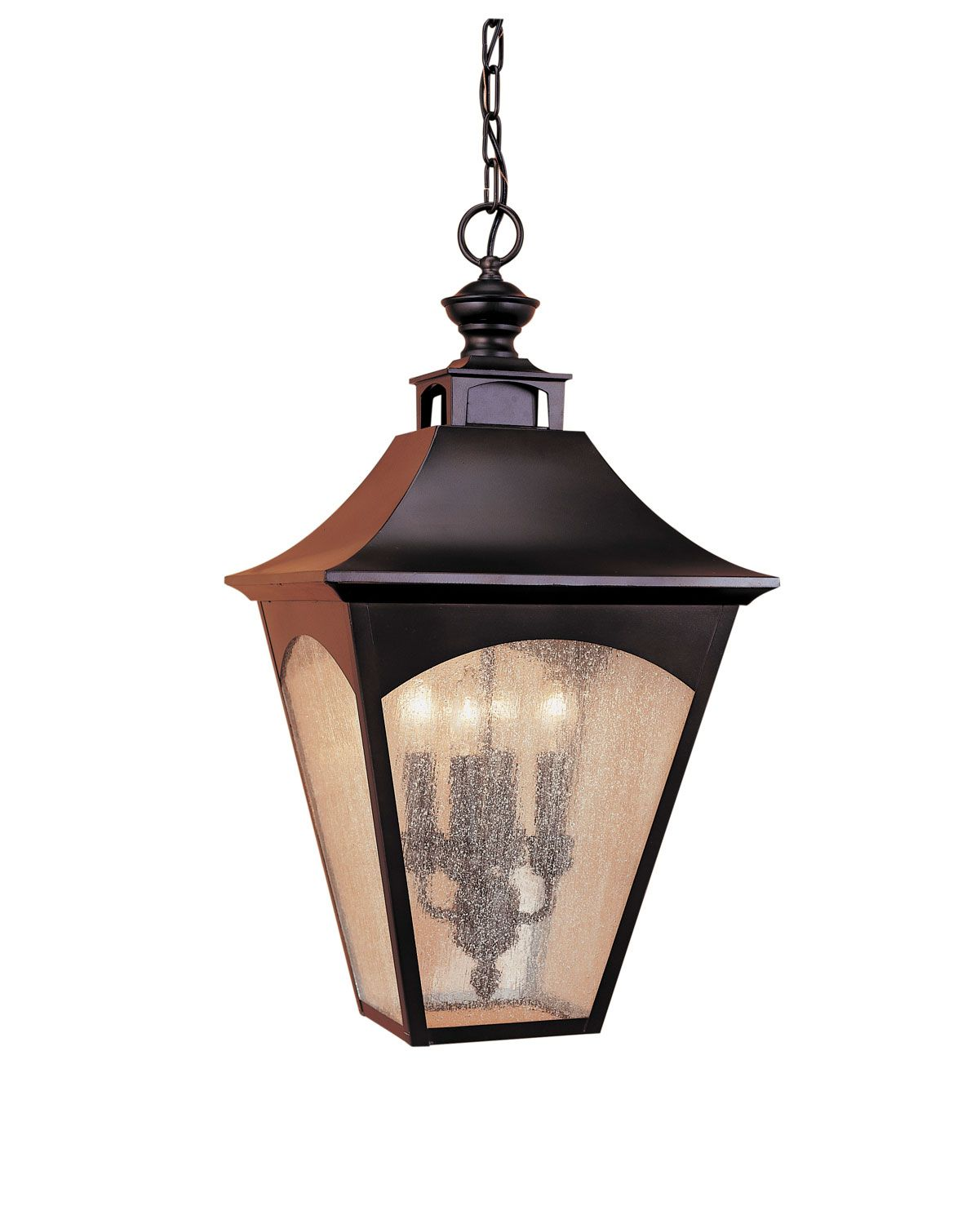 Four Light Pendant Traditional Exterior Lighting Fixture Allied