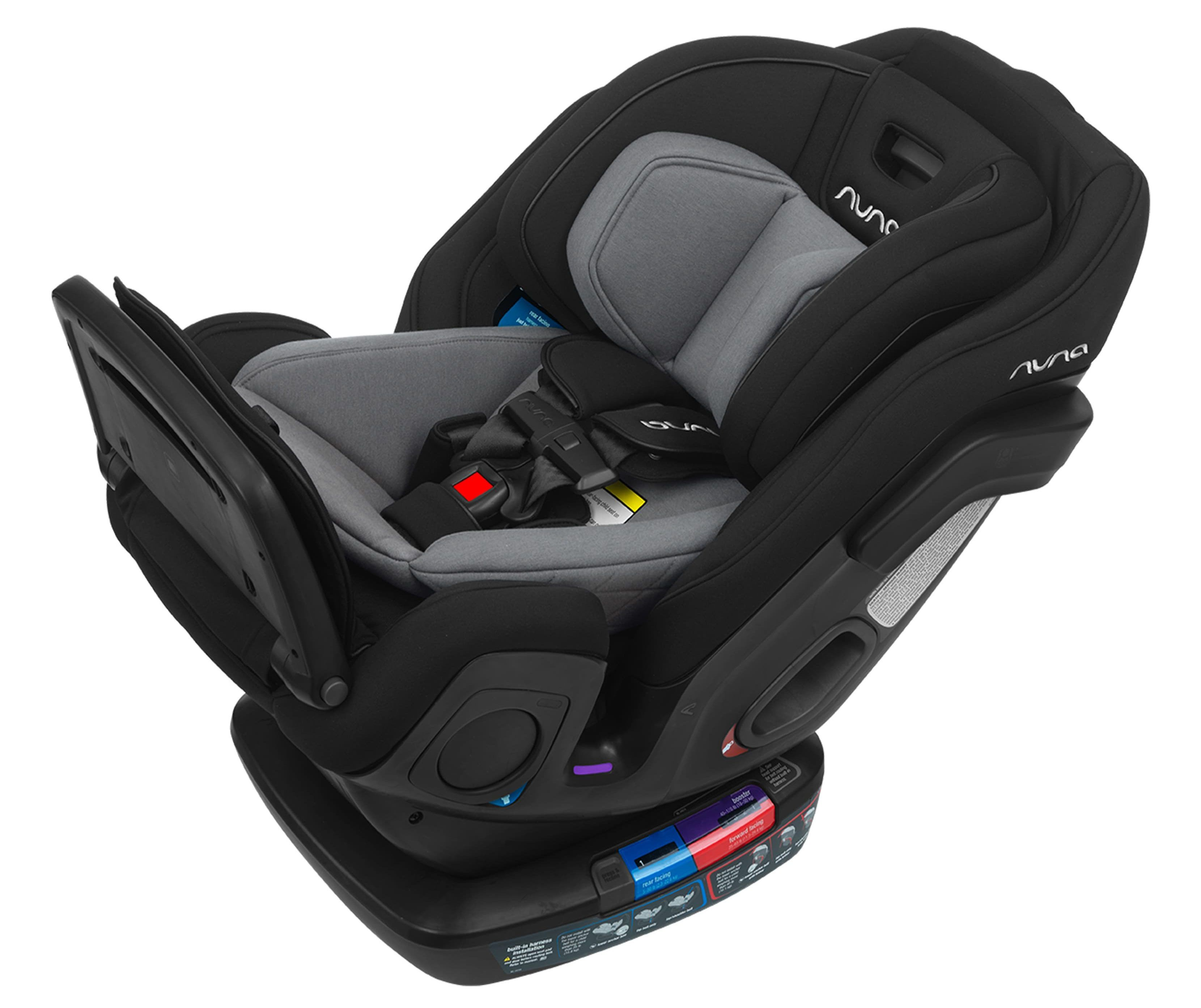 A car seat that can work from infancy to elementary car