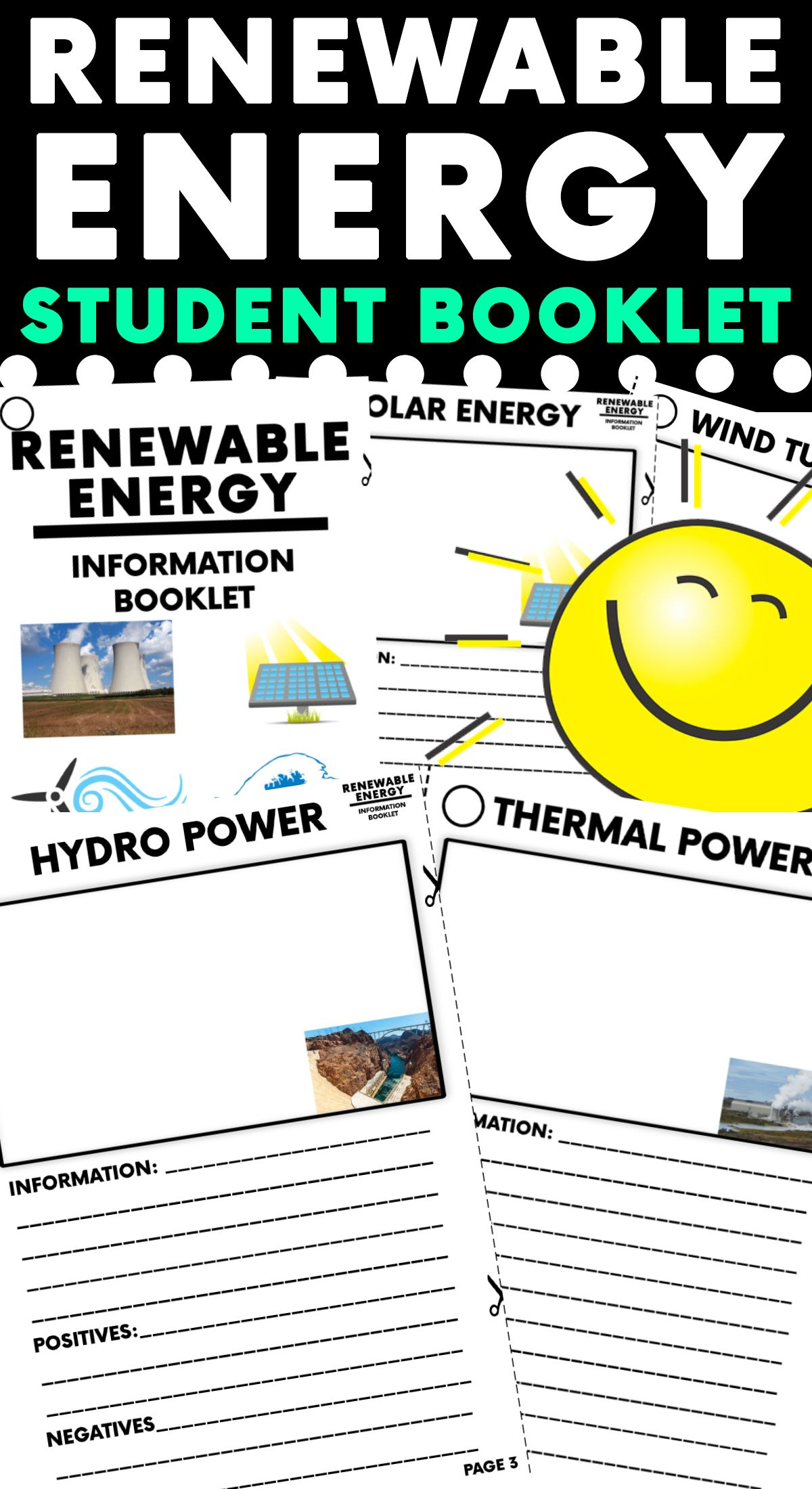 Renewable Energy Research Booklet Energy Research Science Blog