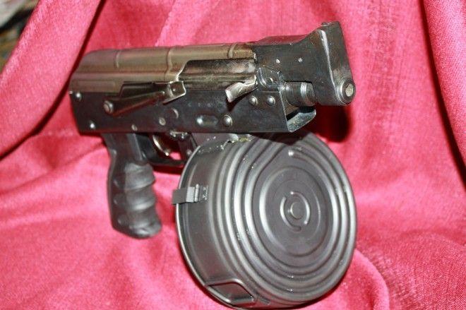 Shortest AK pistol. Tochka.