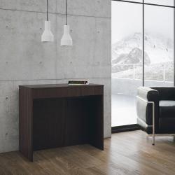 Photo of Design ausziehbarer Konsolentisch aus Melaminholz made in Italy, Agosta Viadurini Collezione living
