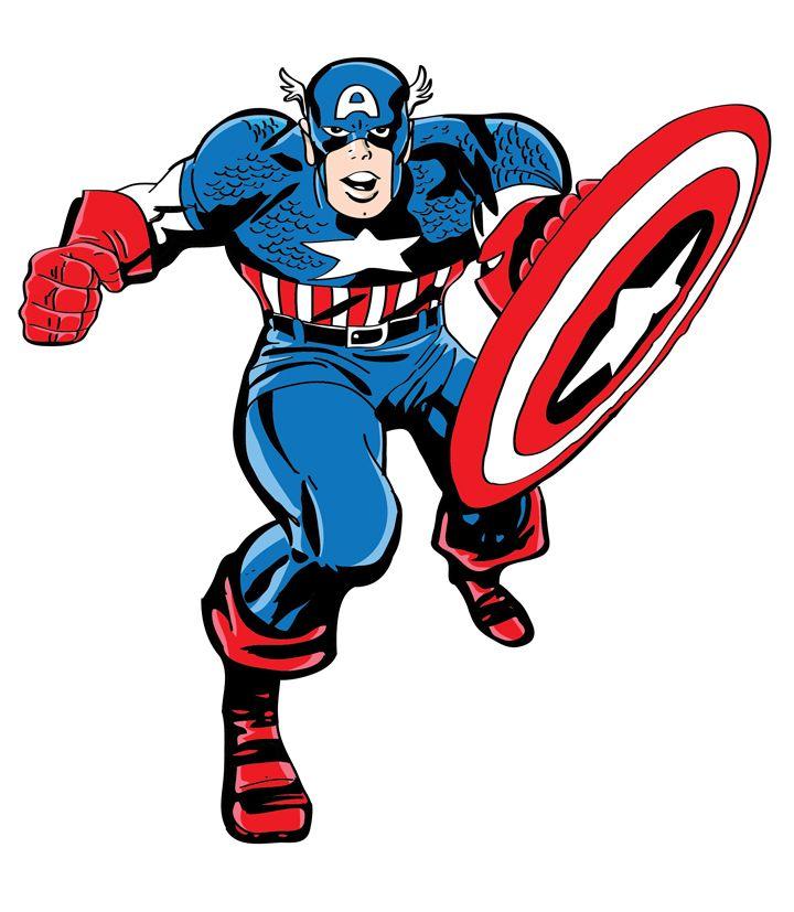 10 Mewarnai Gambar Captain America Bonikids Coloring Page