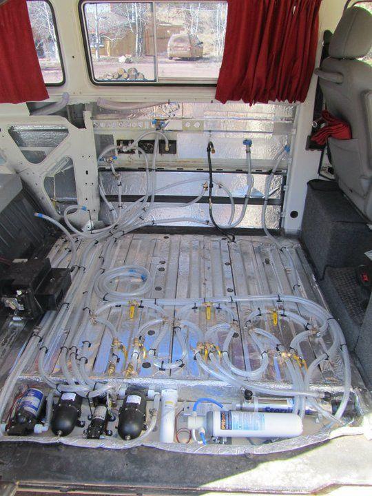 off grid solar wiring diagrams water system camper van conversion diy  van home  water system camper van conversion diy  van home