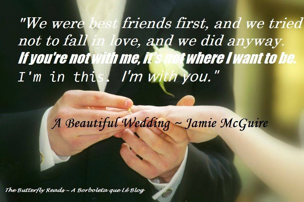 Something Beautiful By Jamie Mcguire Quotes Guess The Disaster Turned Into A Wedding