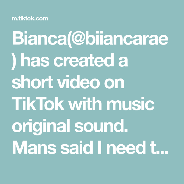 Bianca Biiancarae Has Created A Short Video On Tiktok With Music Original Sound Mans Said I Need To Get My Wisd Wisdom Teeth Pulled The Originals How To Get