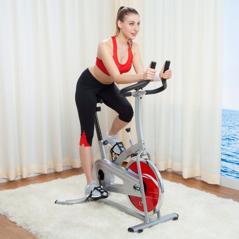 Exercise Bike Indoor Cycling Fitness Exercise Workout Equipment