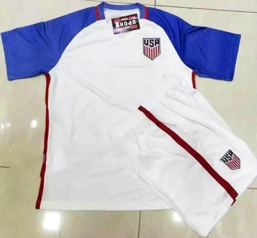 Camiseta Estados Unidos 1ª 2018 Mundial