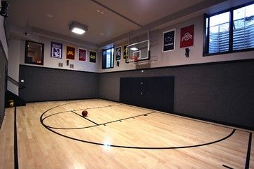 Indoor Basketball Court Design Ideas, Pictures, Remodel, And Decor