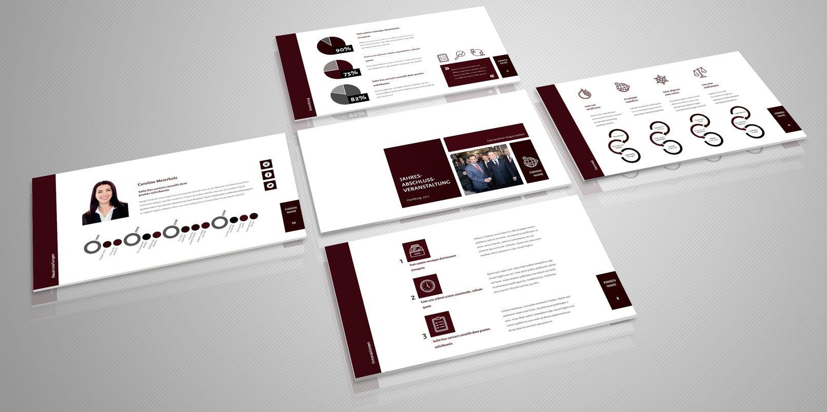 Professionelle Powerpoint Vorlagen Fertige Designs Zur Prasentation Powerpoint Vorlagen Vorlagen Power Point