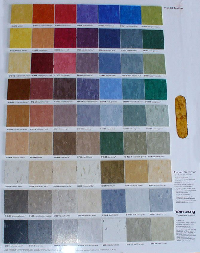Armstrong Vct Tile Colors Vinyl