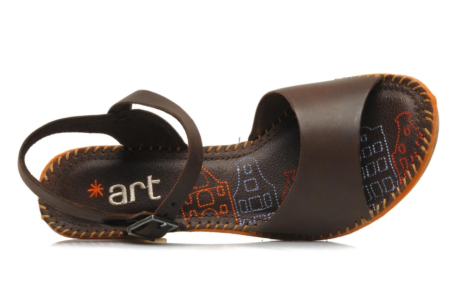 e1262777939 Amsterdam 325 by Art (Brown) | Sarenza UK | Your Sandals Amsterdam 325 Art  delivered for Free